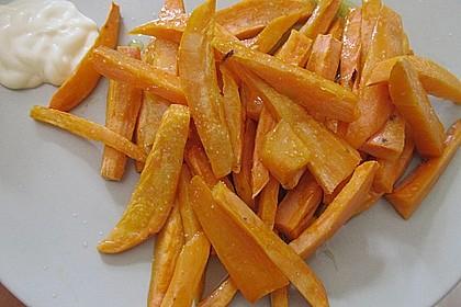 Süßkartoffel Pommes Frites 23