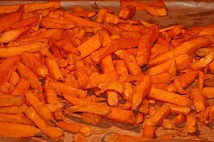 Süßkartoffel Pommes Frites 37