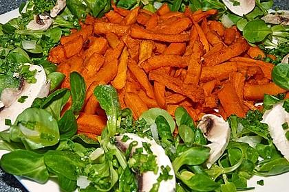 Süßkartoffel Pommes Frites 2