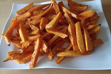Süßkartoffel Pommes Frites 45