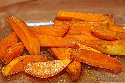 Süßkartoffel Pommes Frites 36