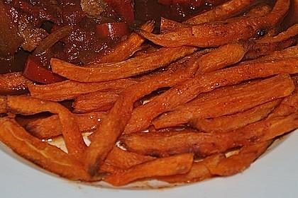 Süßkartoffel Pommes Frites 44