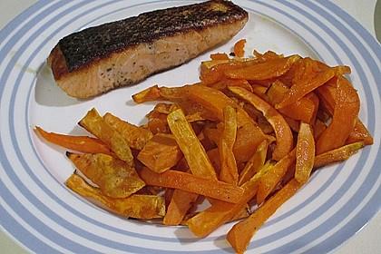 Süßkartoffel Pommes Frites 15