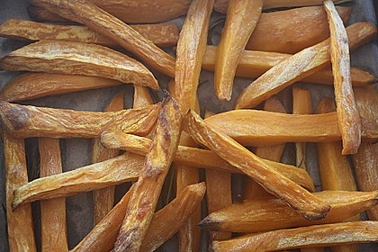 Süßkartoffel Pommes Frites 43