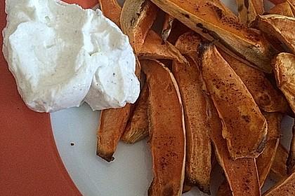 Süßkartoffel Pommes Frites 46