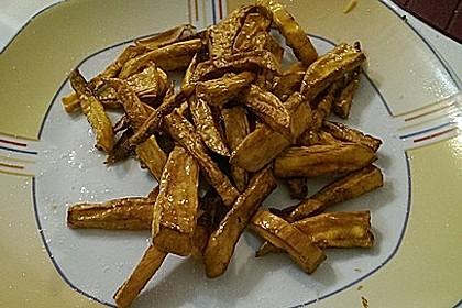 Süßkartoffel Pommes Frites 38