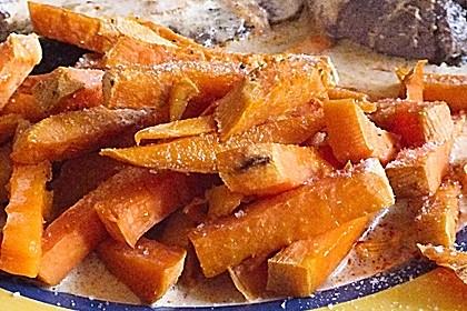 Süßkartoffel Pommes Frites 17