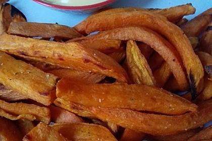 Süßkartoffel Pommes Frites 20