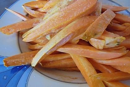 Süßkartoffel Pommes Frites 27