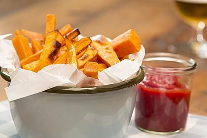 Süßkartoffel Pommes Frites 1