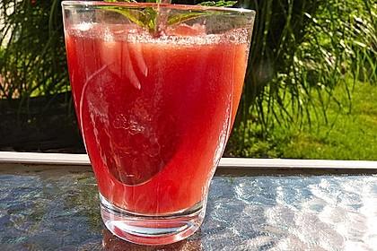 Holunderblüten - Melonen - Dessert 4