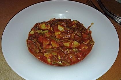 Grüne Bohnen - Tomaten - Kartoffeln 3