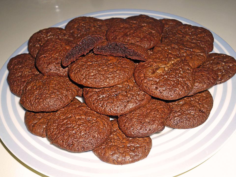 Soft - Chocolate - Fudge Cookies (Rezept mit Bild) | Chefkoch.de