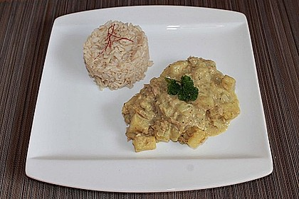 Exotische Thunfisch - Soße zu Reis 3