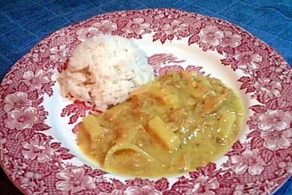 Exotische Thunfisch - Soße zu Reis 1