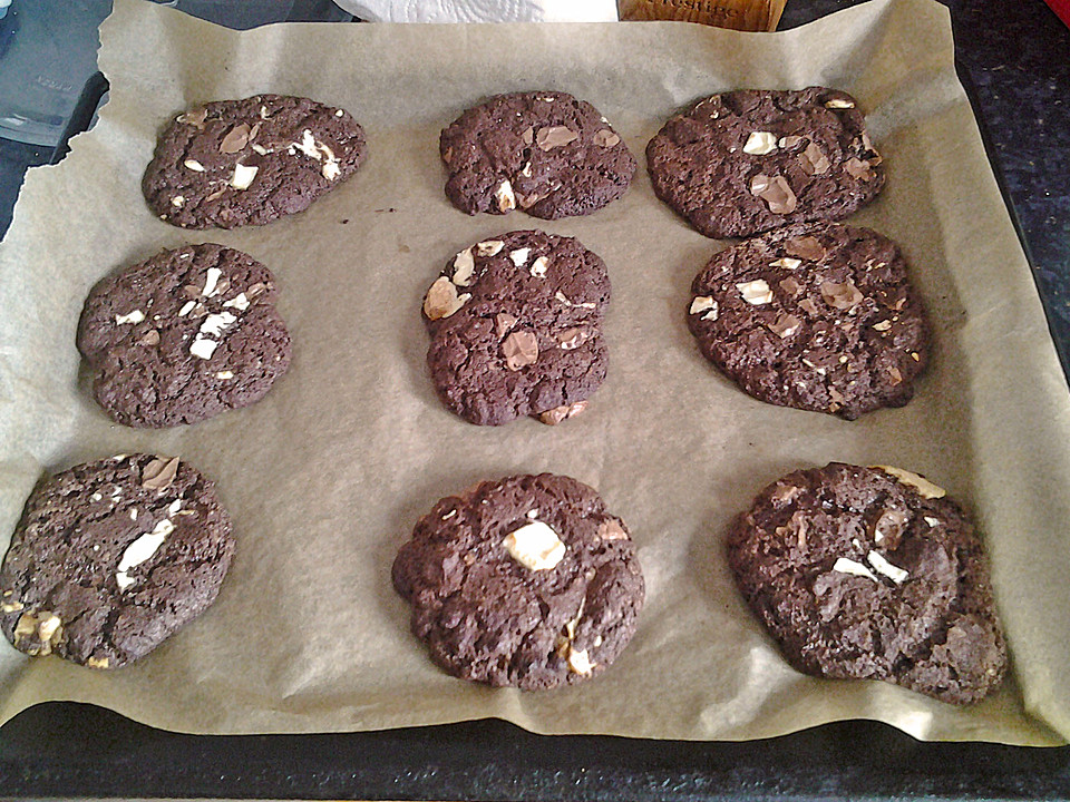 Triple Chocolate Cookies Recipes — Dishmaps