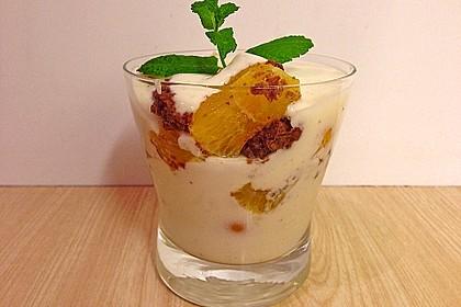 Orangen - Lebkuchen - Trifle 1