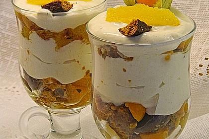 Orangen - Lebkuchen - Trifle 3