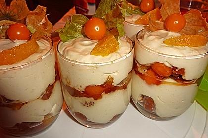 Orangen - Lebkuchen - Trifle 0