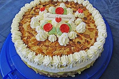 Apfel - Schneemus - Torte 2