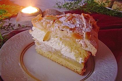 Apfel - Schneemus - Torte 1