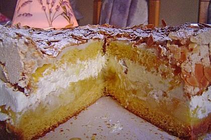 Apfel - Schneemus - Torte 3