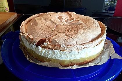 Apfel - Schneemus - Torte
