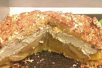 Apfel - Schneemus - Torte 5