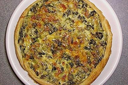 Mangold - Quiche mit Blätterteig 9