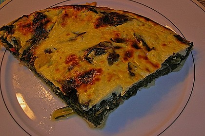 Mangold - Quiche mit Blätterteig 6