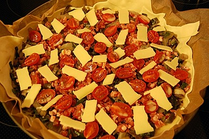 Mangold - Quiche mit Blätterteig 8