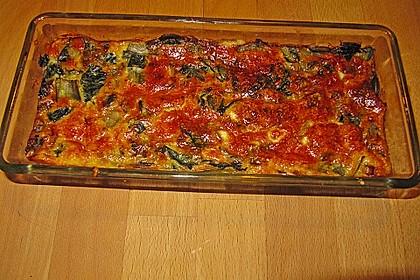 Mangold - Quiche mit Blätterteig 7