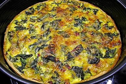 Mangold - Quiche mit Blätterteig 10