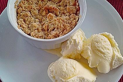 Bananen - Apfel - Toffee Crumble 1
