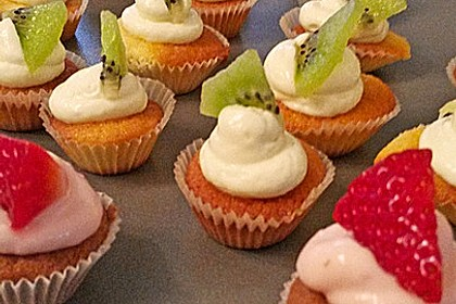 Strawberry - Cupcakes bzw. Erdbeer - Cupcakes 2