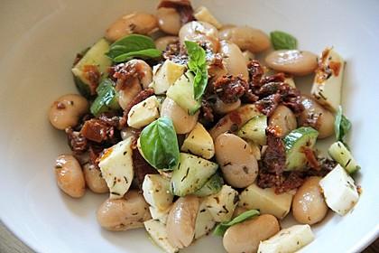 Toskanischer Bohnensalat 2