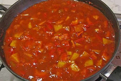Paprika - Kartoffeltopf 4