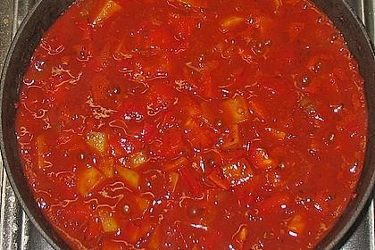 Paprika - Kartoffeltopf 3