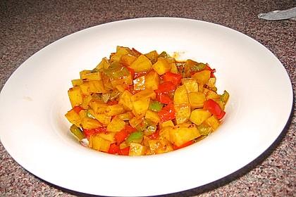 Paprika - Kartoffeltopf 1