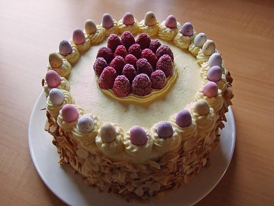 Himbeer butter creme torte rezepte - Torten dekorieren mit marzipan ...