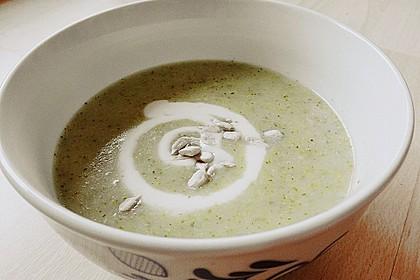 Brokkoli - Kartoffelsuppe