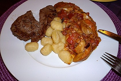 Gnocchi mit würziger Steinpilzsauce 1