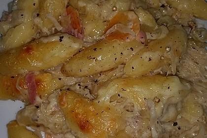 Sauerkraut - Schupfnudeln, überbacken 6