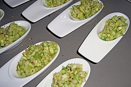 Avocado - Grüner Apfel Tatar 7