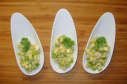Avocado - Grüner Apfel Tatar 6
