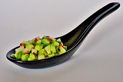 Avocado - Grüner Apfel Tatar 10