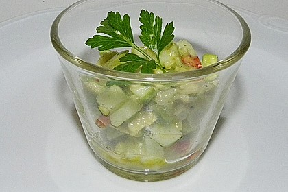 Avocado - Grüner Apfel Tatar 12