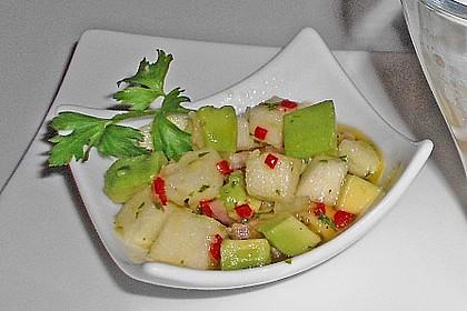 Avocado - Grüner Apfel Tatar 9