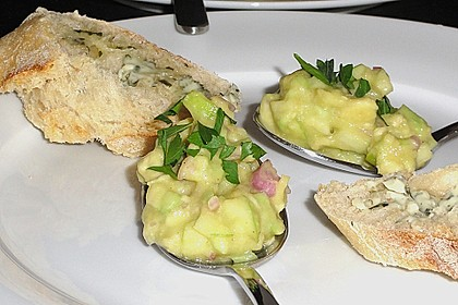 Avocado - Grüner Apfel Tatar 21