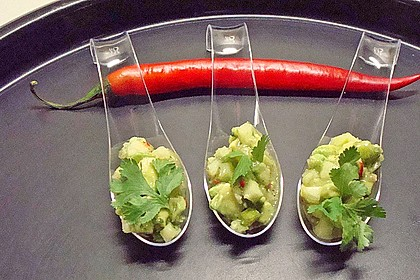 Avocado - Grüner Apfel Tatar 4